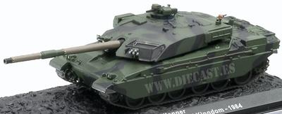 Challenger I, Mainland Division, UK, 1984, 1:72, Altaya