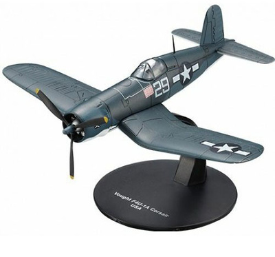 Chance Vought F4U Corsair, US Navy, 1:72, DeAgostini