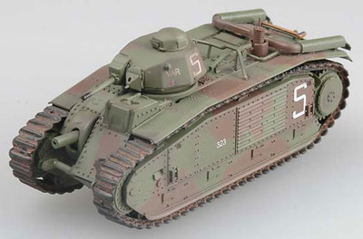Char B1, 2nd Company, June 1940, 1:72, Easy Model