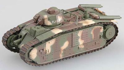 Char B1, French Saumur Museum, 2002, 1:72, Easy Model