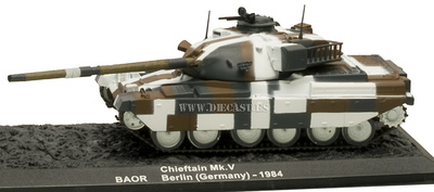 Chieftain Mk.V BAOR, Berlin, 1984, 1:72, Altaya