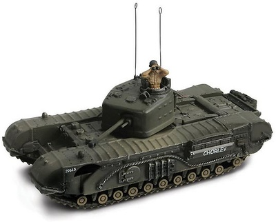 Churchhill MK7 Normandy 1944, 1:72, Forces of Valor