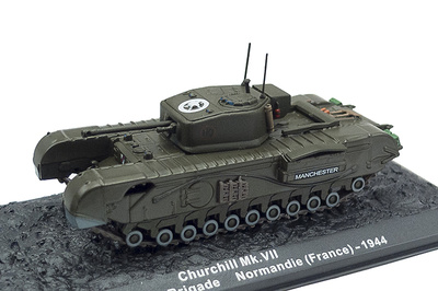 Churchill MK.VII, Normandía, 1944 1:72, Altaya