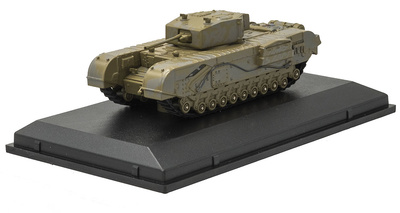 Churchill Mk III, Heavy Tank, 142 RAC, Túnez, 1943, 1:76, Oxford