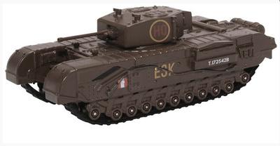 Churchill Mk III, Heavy Tank, 6th Guards Brigade, United Kingdom, 1943, 1:76, Oxford
