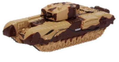 "Churchill Mk III, Tanque Pesado, ""Major King"", El Alamein, 1942, 1:76, Oxford"