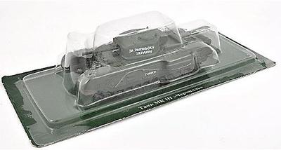 Churchill Mk. III, tanque pesado británico, 1:72, DeAgostini