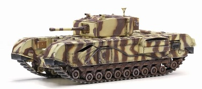 Churchill Mk.III, 145th Royal Armoured Corps, 21st Tank Brigade Junior Regiment, Tunicia, 1943, 1:72, Dragon Armor