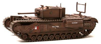 Churchill Mk.III, 1st Canadian Army Tank Brigade, Dieppe, 1942, 1:72, Dragon Armor