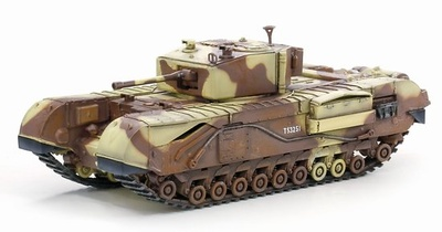 Churchill Mk.III, Tunicia, 1943, 1:72, Dragon Armor