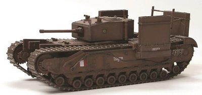"Churchill Mk.III ""Fitted for Wading"", 14th Canadian Armoured Regiment, Francia 1942, 1:72, Dragon Armor"