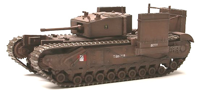 "Churchill Mk.III ""Fitted for Wading"" Operación Jubilee Dieppe, Francia 1942, 1:72, Dragon Armor"