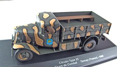 Citroën Type  23, 49ème Bataillon de Chars de Combat, Tannay, 1940, 1:43, Altaya