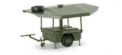 Cocina de campaña en remolque, 1:87, Minitanks