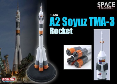 Cohete A2 Soyuz TMA-3, Octubre, 2003, 1:400, Dragon Space Collection