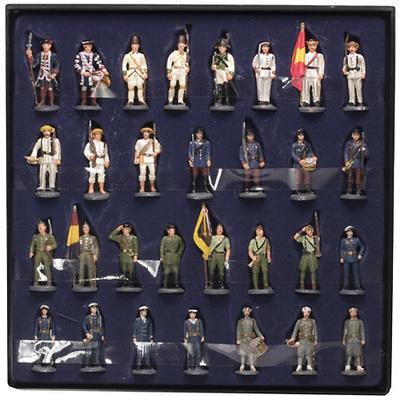 Colección de 30 Soldados de España (plomo)