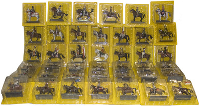 Colección de 42 números de soldados a caballo, 1:32, Cassandra/DeAgostini