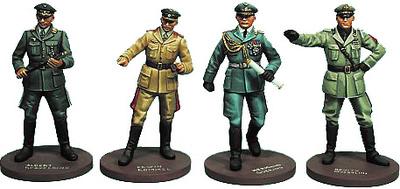 Comandantes del Eje, WWII, 1:35, Oryon