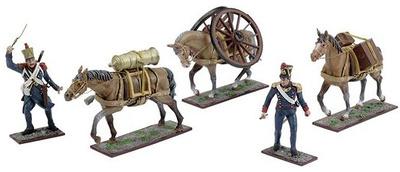 Conjunto de Artillería Francesa, 1:24, Schuco