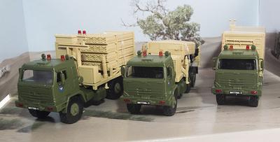 Conjunto de vehículos: Transporte de Armas, Radar y Lanza Misiles, 1:72, Panzerkampf