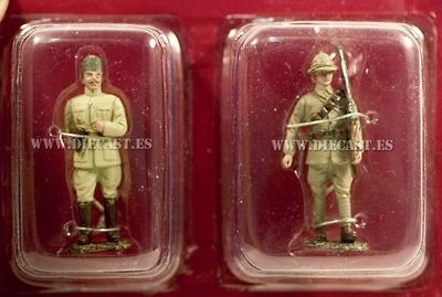 Consejero Alemán + Soldado de infanteria Británico, 1918, 1:32, Hachette