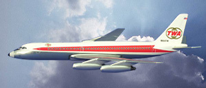 Convair 880 TWA, 1:500, Witty Wings