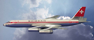 Convair 990 Swissair, 1:500, Witty Wings