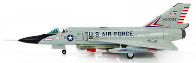 Convair F-106A Delta Dart 0-80795, Air Defence Weapons Center, Tyndall AFB, Florida, 1:72, Hobby Master