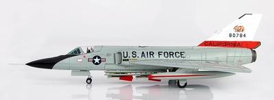 Convair F-106A Delta Dart 80784, 194th FIS, California ANG  William Tell, 1980, 1:72, Hobby Master