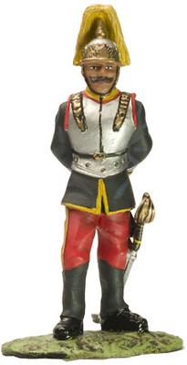 Coracero de la Reina, Ej. Español, 1859, 1:32, Altaya