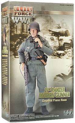 Corporal Franz Haas, 21st Panzer Division Gunner, 1:6, Elite Force