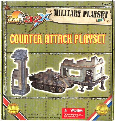 """Counter Attack"", 1:32, 21st Century Toys"