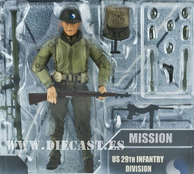 Cpl. Jackson, US 29th Infantry Division, Normandy 1944, 1:18, Elite Force