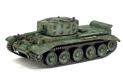 """Cromwell Mk4, 7th Armoured Division """"Ratas del Desierto"""", Países Bajos, 1944, 1:72, Solido"""