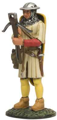 """Crossbowman, Collection """"Medieval Warriors"""", 1:32, Altaya"""