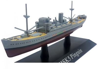 Crucero Auxiliar Pinguin, Kriegsmarine, 1936, 1:1250, DeAgostini