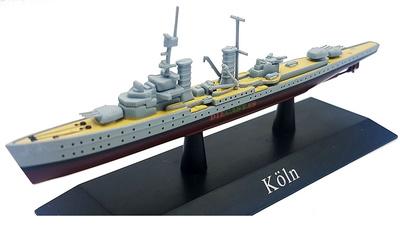 Crucero Ligero Köln, Kriegsmarine, 1930, 1:1250, DeAgostini