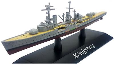 Crucero Ligero Königsberg, Kriegsmarine, 1929, 1:1250, DeAgostini