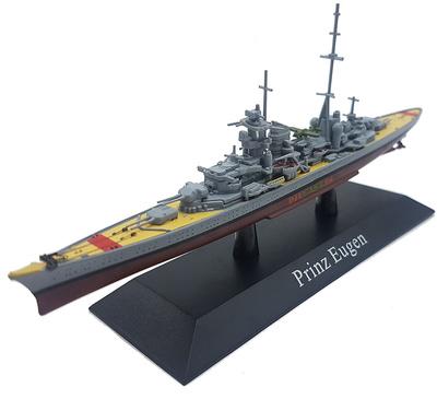 Crucero Pesado Prince Eugen, Kriegsmarine, 1940, 1:1250, DeAgostini
