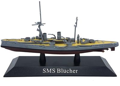 Crucero Pesado SMS Blücher, Kaiserliche Marine, 1910, 1:1250, DeAgostini