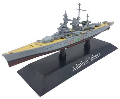 Cruero Pesado Admiral Scheer, Kriegsmarine, 1933, 1:1250, DeAgostini
