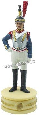 Cuirassier of the 9th Regiment, French Army, 1:24, Altaya