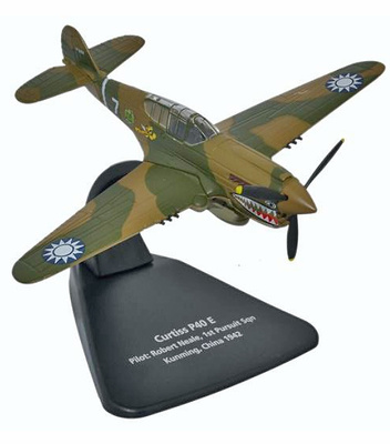 Curtis Warhawk P-40E, Flying Tigers, piloto Robert H. Neale, China, 1942, 1:72, Oxford
