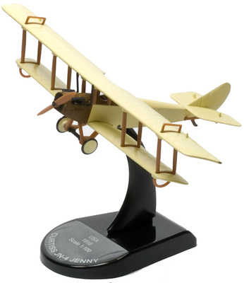 Curtiss JN-4 Jenny, 1:100, Del Prado