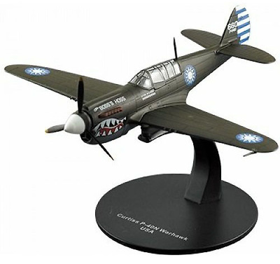 Curtiss P-40 Warhawk, 2ª G.M., USA, 1:72, DeAgostini