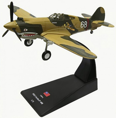 Curtiss P-40 Warhawk, AVG Flying Tigers, 1942, 1:72, Amercom