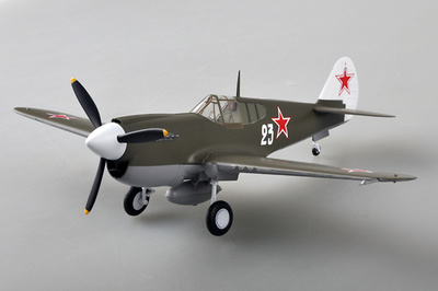 Curtiss P-40M, Armada Soviética, 1944, 1:48, Easy Model