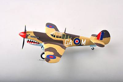 Curtiss P-40M No.112 Sqn Sicilia, 1943, 1:48, Easy Model