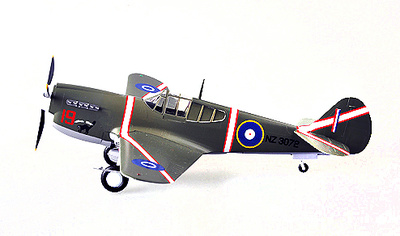 Curtiss P-40M Warhawk, Vo.15 Sqn, Royal New Zealand Air Force, 1943, 1:48, Easy Model