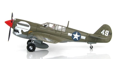 Curtiss P-40N Warhawk 80th FG, 89th FS, Assam Valley, Naggaghuli Base, 1944, 1:72, Hobby Master
